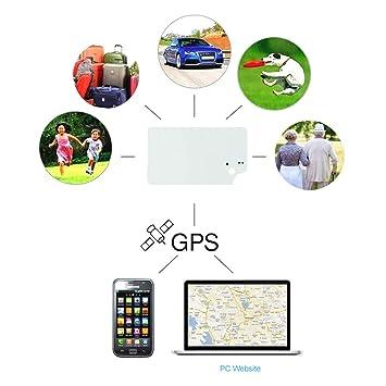TKSTAR rastreador GPS Mini Localizador GPS Oculto Localizador en Tiempo Real antirrobo para Mascotas Monedero Niños