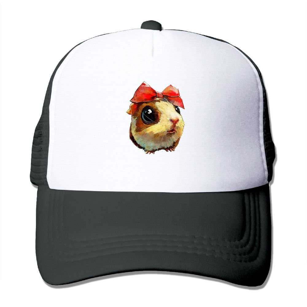 FeiTian Guinea Pig Low Profile Baseball Caps For Teen Boys Unique Great For Travle Hiking Sunmmer Hat