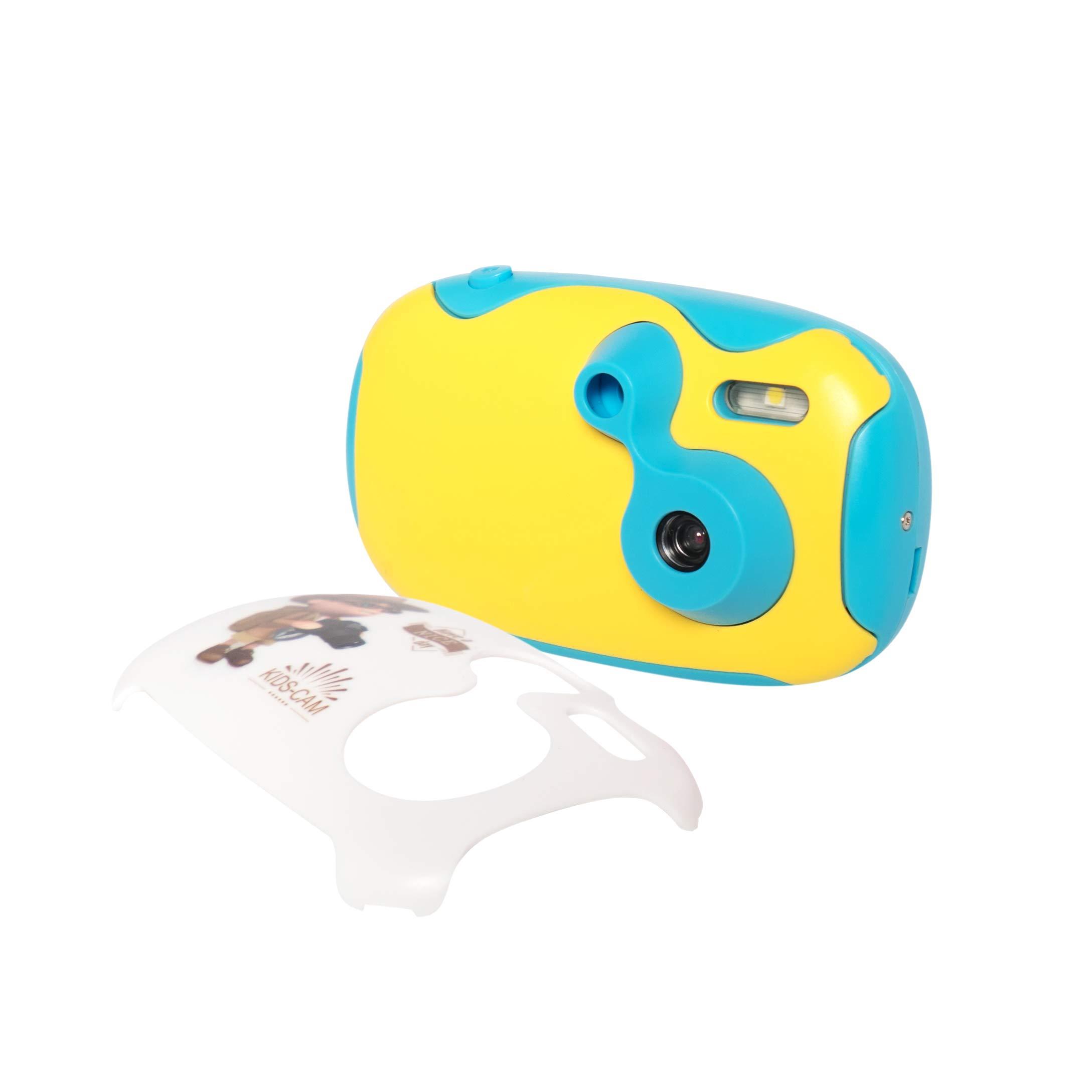 AMKOV DF-02 1.44 inch HD Display Kids Camera, Blue