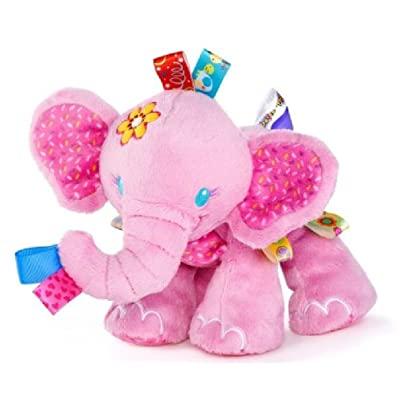Taggies Tag 'N Play Pals Pink Elephant : Baby Plush Toys : Baby