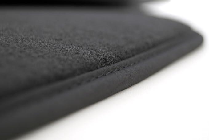 Kh Teile Fußmatten Passend Für A1 A1 Sportback Premium Qualität Velours Automatten Anthrazit 4 Teilig Auto