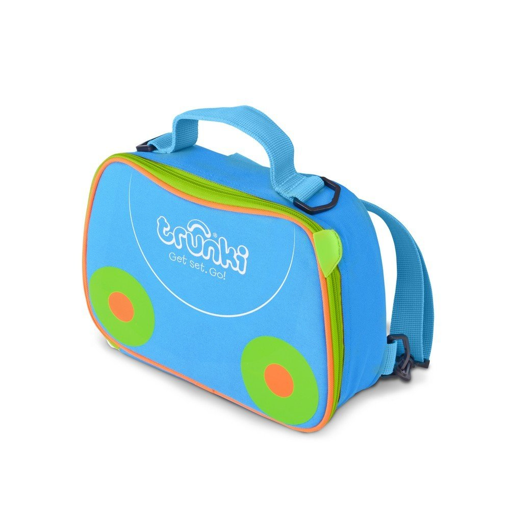 70d067b1a5 Trunki Kids Insulated Lunch Bag & Backpack With Shoulder Strap - Terrace  (Blue): Amazon.co.uk: Luggage