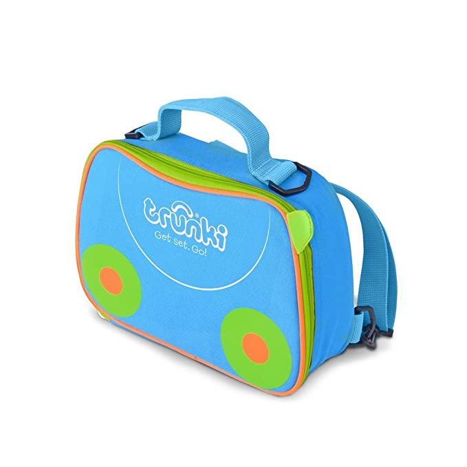 1f0bbb79b137 Trunki Kids Insulated Lunch Bag   Backpack With Shoulder Strap - Terrace ( Blue)  Amazon.co.uk  Luggage