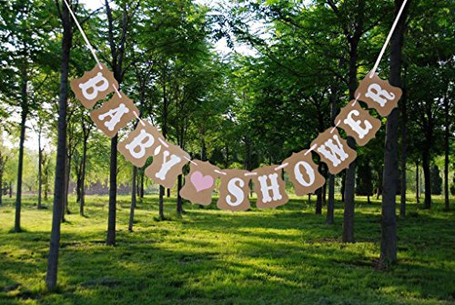 BABY SHOWER - Newborn Baby Announcement Jointed Vintage Bann