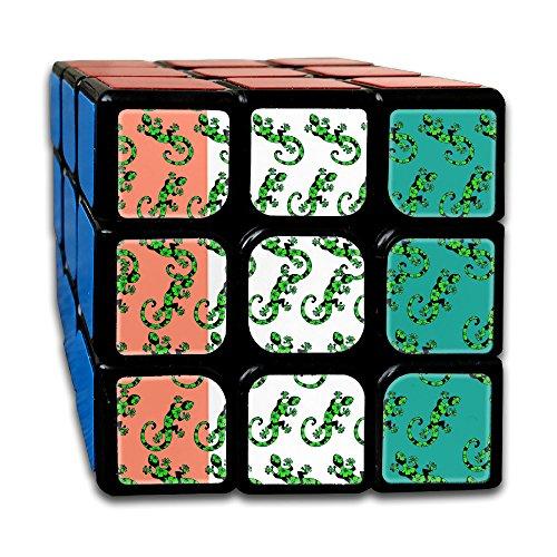 - Gecko Lizard Irish Flag 3x3 Smooth Speed Magic Rubiks Cube Puzzle Cube Puzzles Toys