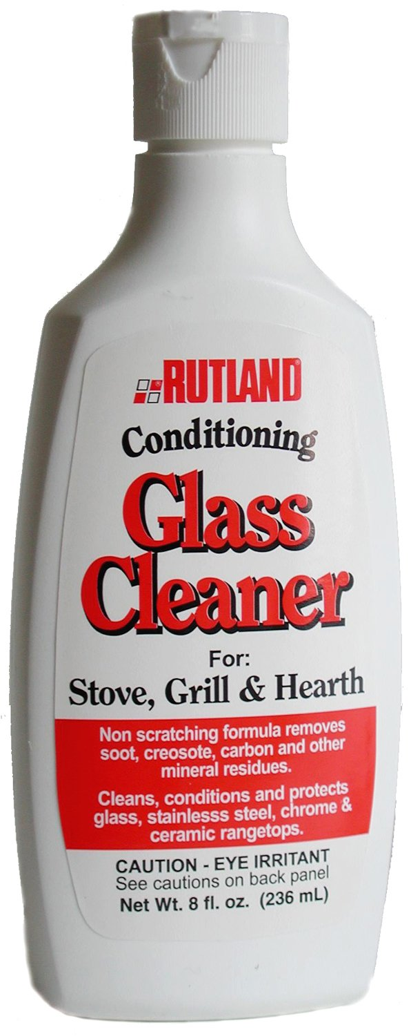 Rutland Products Stove, Grill And Hearth Glass Cleaner, Blue 84