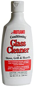 Rutland Products Not Rutland Hearth and Grill Conditioning Glass Cleaner, 8 Fluid Ounce