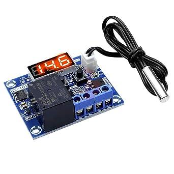 DC 12V Termostato Digital Controlador de Temperatura Nevera ...