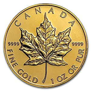 Amazon.com: Canada (1 oz) Gold Maple Leaf - Random Year