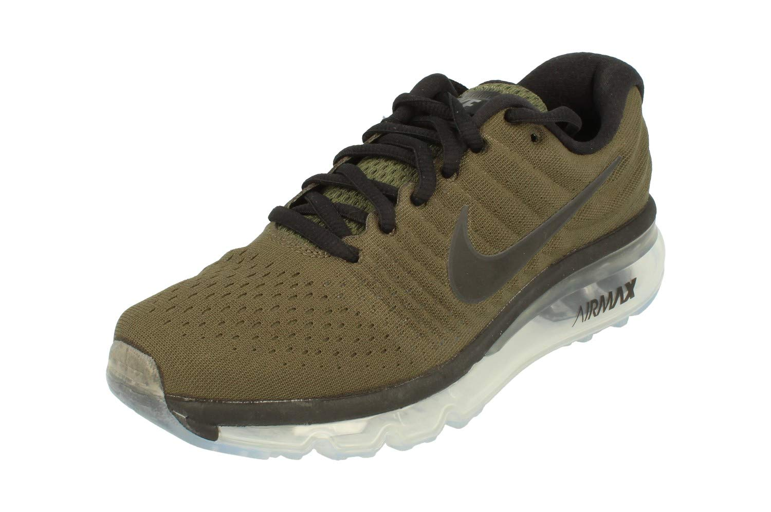the latest 34863 2be08 Nike Air Max 2017 GS Running Trainers 851622 Sneakers Shoes (UK 4.5 Us 5Y  EU 37.5, Cargo Khaki Black 301)
