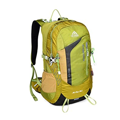 4c3adf8d1425 登山リュック36L レインカバー付き アウトドアザック 旅行 ハイキング避難 防災 キャンプ クライミング 軽量 多