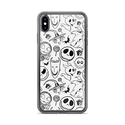 Robertsshop Nightmare Before Christmas Pattern Case Cover Compatible For Iphone Xs Max