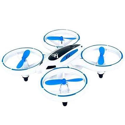 SYMTOP Mini 4 Canales RC Dron Cuadrirrotor Juguete Altitud - Azul ...
