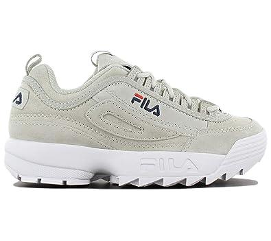 colore scarpe fila disruptor grigie