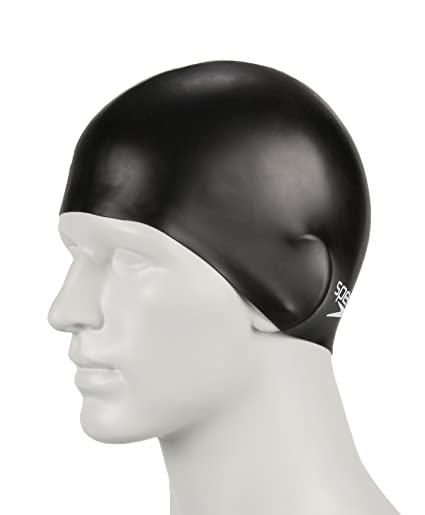 Image Unavailable. Image not available for. Color  Speedo Plain Moulded  Silicone Swim Cap for Juniors f2f63af012993