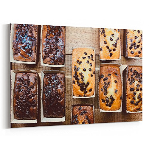 (Westlake Art - Cake Food - 5x7 Canvas Print Wall Art - Canvas Stretched Gallery Wrap Modern Picture Photography Artwork - Ready to Hang 5x7 Inch)