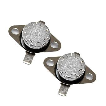 3 Pcs KSD301 NC Temperature Switch Thermostat 185 Celsius 250V 10A