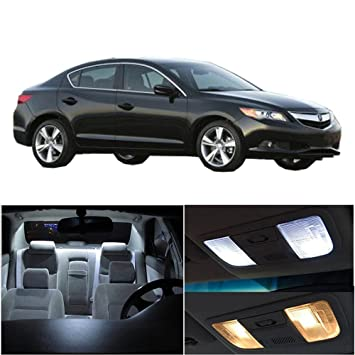 Cciyu Acura ILX Package Kit White LED Interior Light - Acura ilx accessories