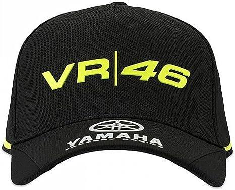 Valentino Rossi VR46 Moto GP M1 Black Line Yamaha Gorra Oficial ...