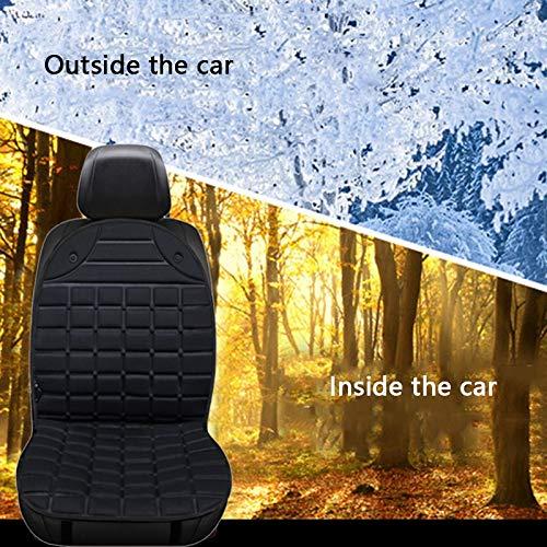 TOOGOO 12V Elektrisch Beheizte Kissen f/ür die Winter Heizung Auto Sitz Cushio Universal Elektrisch Waren Winter Warme R/üCk Sitz Heizung
