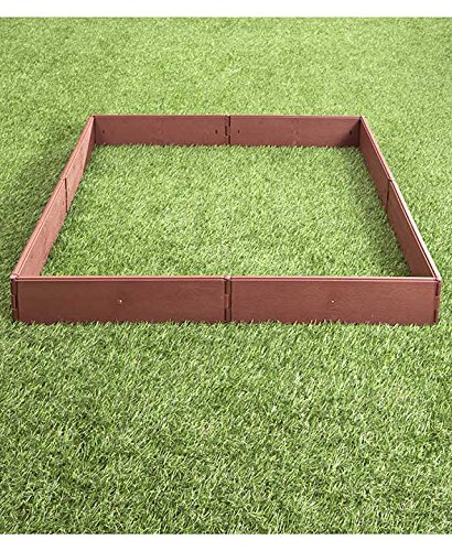 The Lakeside Collection Raised Garden Bed Set for Vegetable and Flower Gardening 4 Perfect for vegetable or flower gardening, this convenient kit is the perfect gift for moms and dads trying to enhance the look of their yard or other outdoor space Easily assembles into one large garden box or two smaller raised beds. 8 stakes ensure this garden kit is securely planted into the ground and stays in place. Not only can you choose to use it in a one- or two-box configuration, but there are other shapes and designs you can go with to enhance the utility of this planter with raised walls.
