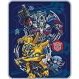 Transformers 5 Movie Kids Silky Soft Throw Blanket