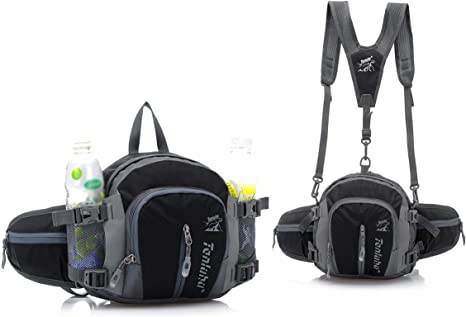 Canvas Running Waist Pack Bag Travel Sports Money Holder See You in Space