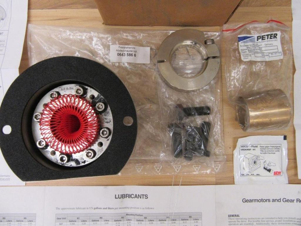 Sew Eurodrive 1056 3709/1002 Assembly 01 805 52 US