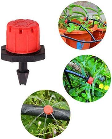 50 Stk Micro-drip Bewässerungssysteme Set Sprinkler Garten Bewässerung