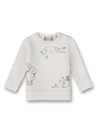 639e39a23182b Sanetta Sweatshirt Sweat-Shirt Bébé Fille  Amazon.fr  Vêtements et  accessoires