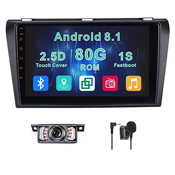 Amazon Android 81 Car Stereo For Mazda 3 2004200520062007 Rhamazon: Mazda 3 Radio Display At Gmaili.net