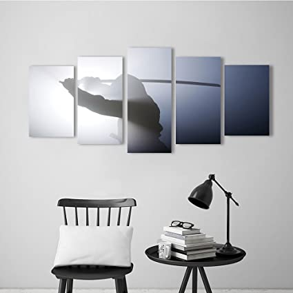 Amazon.com: Nalahome Modern Decorative Artwork A rea ninja ...