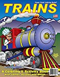 Trains Coloring Book (8.5x11)