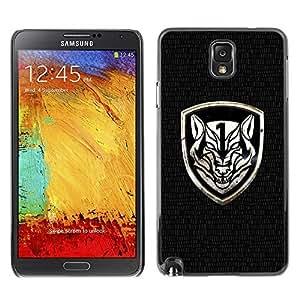 GagaDesign Phone Accessories: Hard Case Cover for Samsung Galaxy Note 3 - Fierce Crest