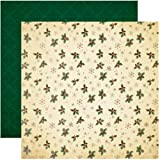 Reminisce ACS-002 A Christmas Story 12 by 12-Inch Double Sided Scrapbook Paper