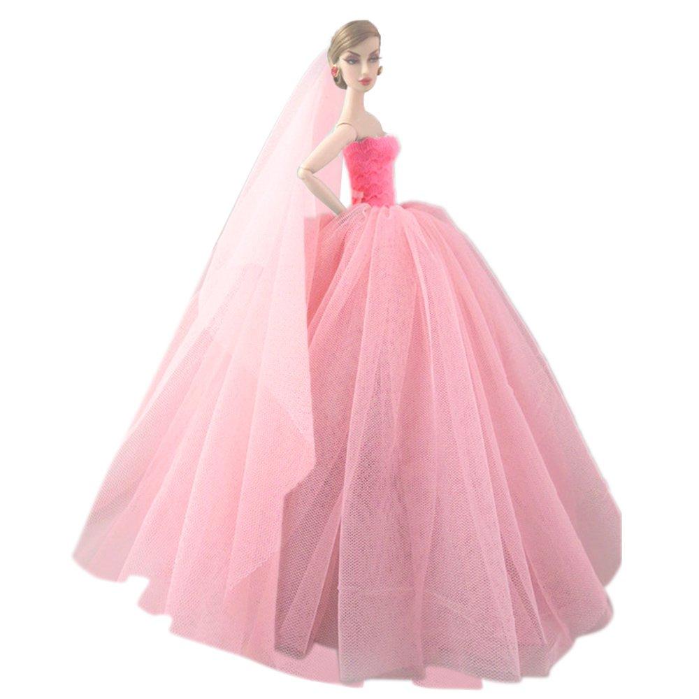 chic Elegante hada niña muñecas juguetes Vestido de vestidos de ...