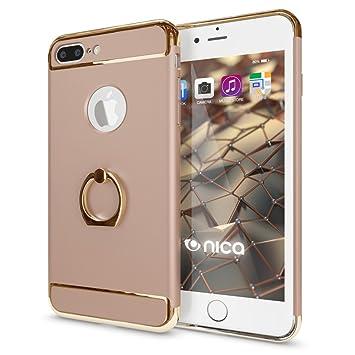 IPhone 8 Plus 7 Ring Hulle Handyhulle Von NICA Schutz Mit 360