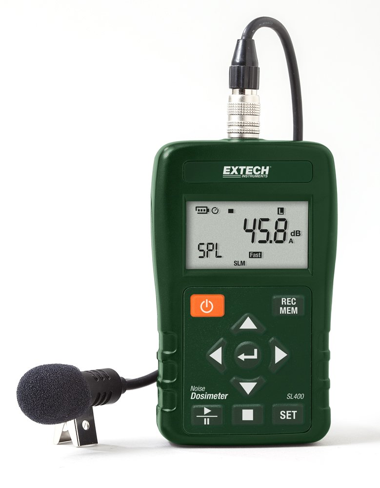 Extech SL400 Personal Noise Dosimeter with USB Interface by Extech