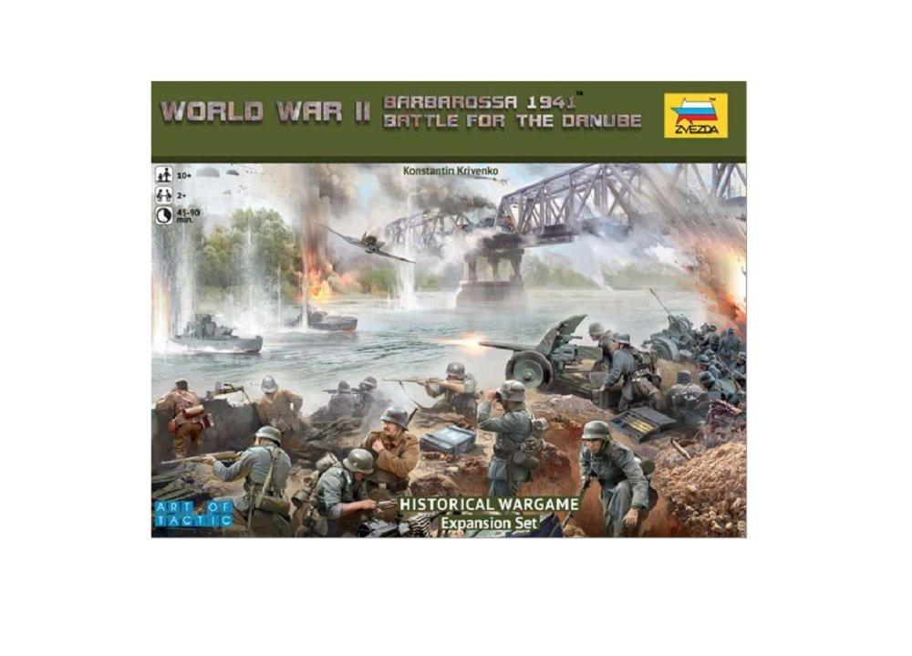 ZVEZDA Battle Of The Danube Wargame 1 72  Model Kit Z6177