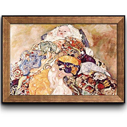 Baby by Gustav Klimt Framed Art