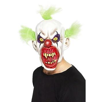 Careta Máscara Payaso Aterrador Halloween Carnaval De Accesorios 7Yy6vbfg