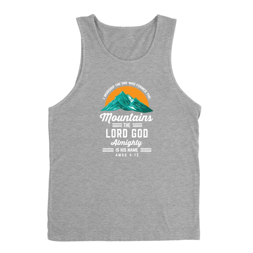 The One Who Formed The Mountains Premium Tank Top