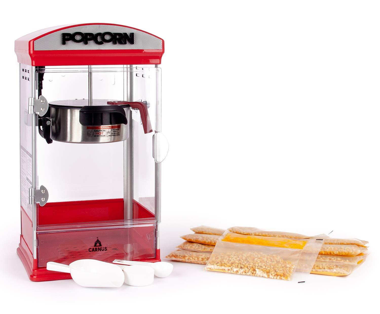 Máquina de palomitas de maíz Carnus Home | Características ...