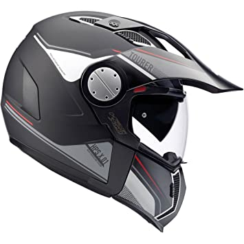 GIVI HX01DN90058 Hps X01D Integral Casco Tourer, Color Negro Mate, Talla 58/M