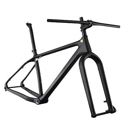 Amazon.com : ICAN 26er Carbon Fat Tire Bike Frame set 16/18/20 Inch ...