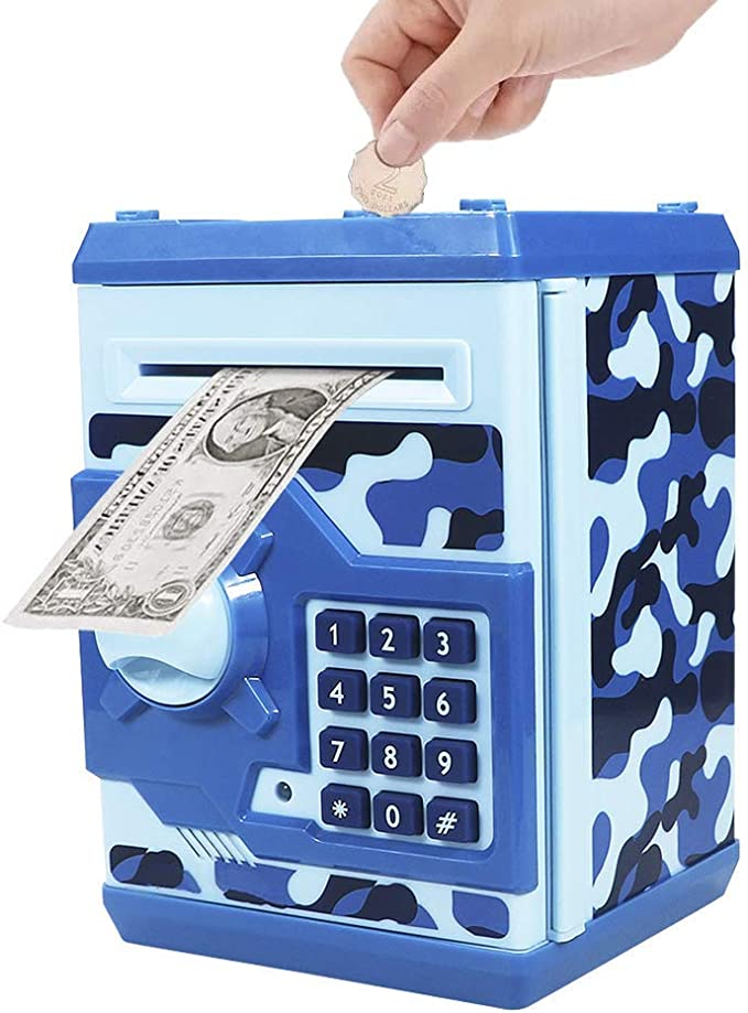 Stealing Coin Piggy Bank,Automatic Stealing Money Coin Bank Saving Box,Mischief Toys for Kids Boys Girls