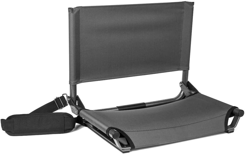 Cascade Mountain Tech Stadium Seat - Lightweight, Portable Chair for Bleachers and Benches