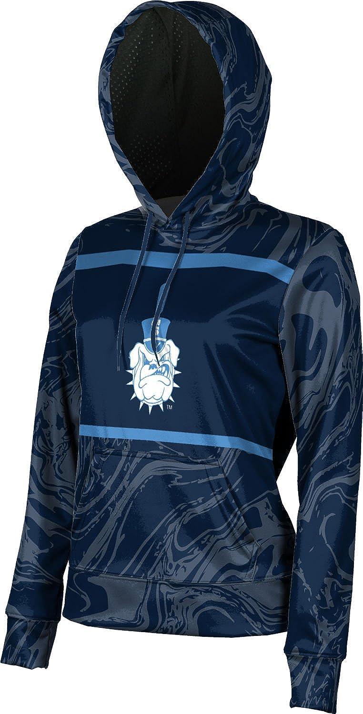 School Spirit Sweatshirt ProSphere The Citadel College Girls Pullover Hoodie Ripple