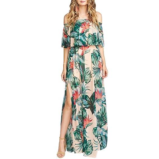 Vero Viva Women S Tropical Print Strapless Maxi Dress Double Layered