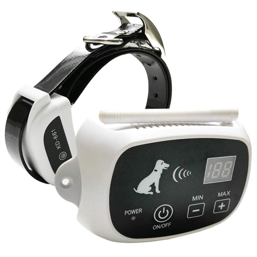 As-picture MISSKERVINFENDRIYUN Pet Dog Wireless Fence Charging Waterproof Collar Dog Barking Control Devices (color